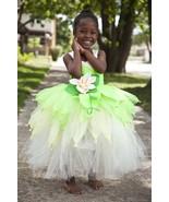 Tiana Tutu Dress, Princess Tiana Tutu, Princess & a frog dress, Girl Tia... - $55.00+