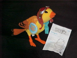 """11"""" Talking Margalo From Stuart Little Plush Toy With Tags Hasbro 2002 Adorable - $148.49"""