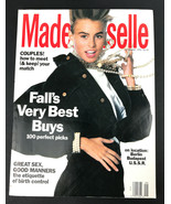 Mademoiselle Magazine September 1990 - $18.38