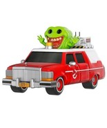 FUNKO POP! RIDES ECTO-1 WITH SLIMER 2016 SDCC EXCLUSIVE GHOSTBUSTERS 24 ... - $45.00