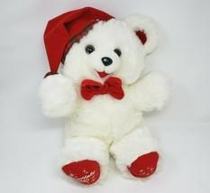 "18"" VINTAGE 1990 DAN DEE CHRISTMAS SNOWFLAKE TEDDY BEAR STUFFED ANIMAL P... - $55.17"