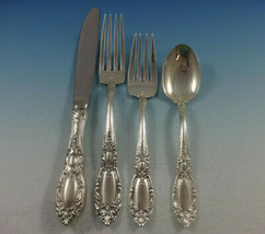 King Richard by Towle Sterling Silver Flatware Set For 12 Service 55 Pieces - $3,400.00