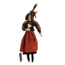 Vintage Phoebe Greathouse Winifred Baxter Cloth Folk Art Doll OOAK Aucti... - $49.99
