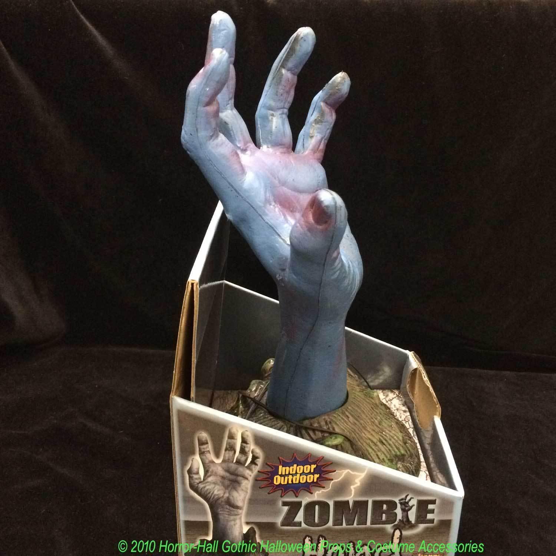 Life Size SEVERED ZOMBIE HAND Halloween Ghoul Groundbreaker Prop Yard Decoration