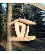 Kettle Moraine Cedar Mini Moraine Hopper Wild Bird Feeder #8420M - $80.00