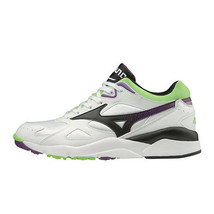 Mizuno SKY MEDAL Table Tennis Shoes Unisex White Green Paddles NWT D1GA192409 - $114.21