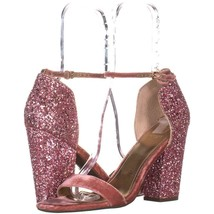 Guess Bambam3 Ankle Strap Sandals 662, Pink Multi, 9 US - $32.63