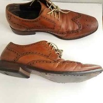 Cole Haan Air Mens size 9M Dress Shoes Pointed wingtip lace Air - $34.95