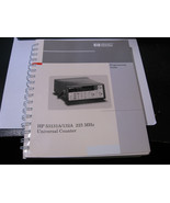 HP Agilent 53131A 53132A 225 MHz Universal Counter Programming Guide 531... - $28.50