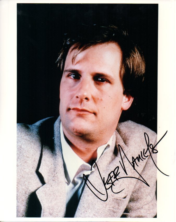 Primary image for Jeff Daniels Signed Autographed Glossy 8x10 Photo