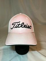 New Era Titleist FJ FootJoy Mesh Baseball Cap Hat Size Medium-Large Pink... - $15.19