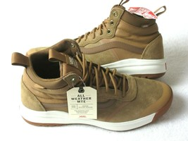 Vans Womens UltraRange Hi DI MTE Boots Chipmunk Brown Marshmallow Size 8.5 NWT - $67.31