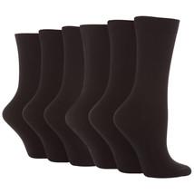 Sock Snob 6 Paires De Chaussettes Noires En Coton Pour Femmes 37-42 - $14.51