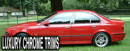 BMW 5 Series E39 Stainless Chrome Pillar Posts by Luxury Trims 1997-2003 (6pcs) - $69.80