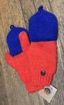 Andes Gifts Fair Trade Alpaca Wool Blend Handmade Knit Mitten Gloves Ora... - $400,92 MXN