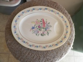 Theodore Haviland Fox Glove 11 1/2 inch oval platter 1 available - $9.85