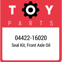 04422-16020 Toyota Seal Kit, New Genuine OEM Part - $24.66