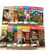 1993 Country Living Magazine Lot of 12 Complete Year Including Christmas - $34.64