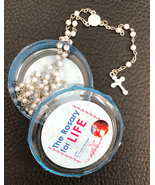 The Rosary for Life Rosary Beads - White - $13.95