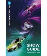 2016 LOS ANGELES International AUTO SHOW Program CAR GUIDE Map 2017 Models - $7.50