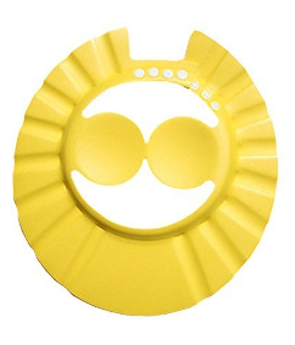 Creative Children's Bath Cap/Shower Hat Can Be Adjusted Yellow