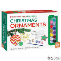 MindWare Paint Your Own Christmas Ornaments - $24.94