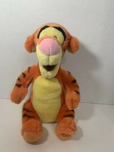 Disney Store Tigger sitting plush orange Winnie the Pooh soft toy stuffe... - $8.90