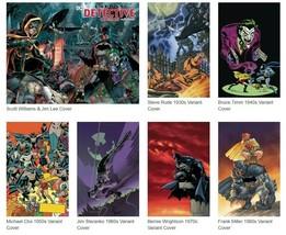 DETECTIVE COMICS 1000 - 10 COVERS + BATMAN REBIRTH #1 - 20 - FREE SHIPPING - $140.25