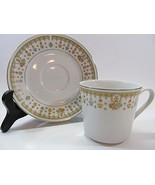 Garden Bouquet Fine China Cup and Saucer - $19.79