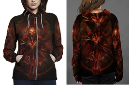 Mephisto__Lord_of_Hatred Zipper Hoodie Women's - $48.99+