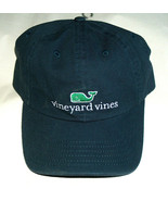 NEW Vineyard Vines OSFA 134578 Blue Embroidered Green Whale Adjustable H... - $29.68