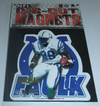 Marshall Faulk 1996 Chris Martin Ent. NFL Die-Cut Magnets Indianapolis C... - $3.95