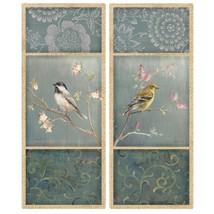 Wallies Peel & Stick Vinyl Wall Decals Birds An... - $22.12