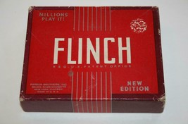 Parkers Bros. Vintage FLINCH New Edition 1938 Card Game  #2453 - $20.00
