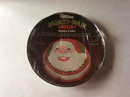 Wilton Santa Cake Pan w Insert 2105-5559 Tin Christmas Bakeware 1976 Vin... - ₨338.97 INR
