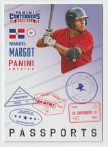 Manuel Margot 2015 Panini Contenders Passports Insert #14 Boston Red Sox - $0.99