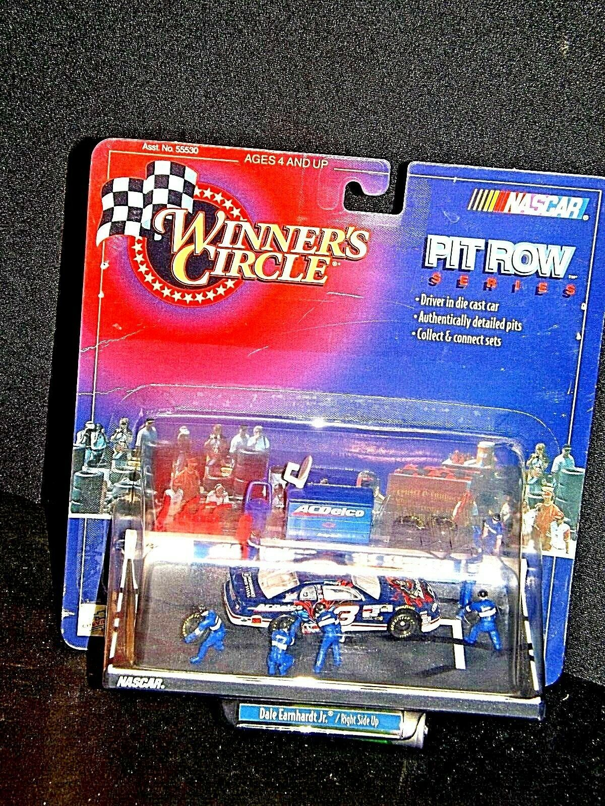 Winner's Circle NASCAR Pit Row Series Right Side Up#3 blue Dale Earnhardt Jr.
