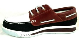 NIB TIMBERLAND MEN'S CRUISE MAST CASUAL RETRO 25567 SHOES LEATHER BROWN ... - $44.99