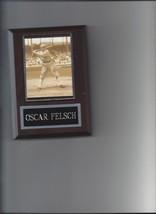 OSCAR HAP FELSCH PLAQUE BLACK SOX BASEBALL MLB 1919 CHICAGO WHITE SOX HAPPY - $2.56