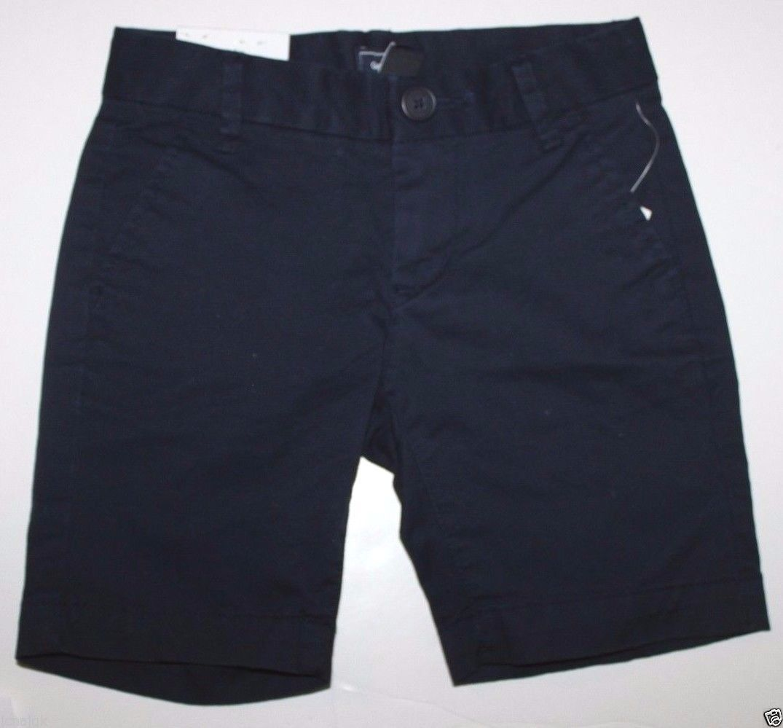 Gap Kids NWT Girl's Navy Blue Uniform Shorts School Uniform Chino Shorts