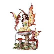 Pacific Giftware Fluttering Friends Fairy Collectible Decorative Statue ... - $49.49