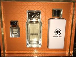 $190 NWT Tory Burch Eau De Parfum / Lotion /Spray Women's 3-piece Gift Set - $129.99