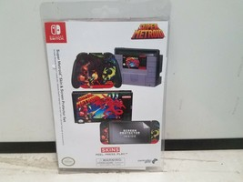 Controller Gear Nintendo Switch Skin & Screen Protector Set - Super Metr... - $23.70