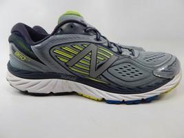 New Balance 860 v7 Size 13 M (D) EU 47.5 Men's Running Shoes Gray Yellow M860GY7