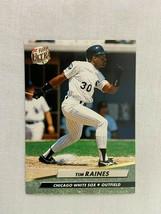 Tim Raines Chicago White Sox 1992 Fleer Baseball Card 43 - $2.96