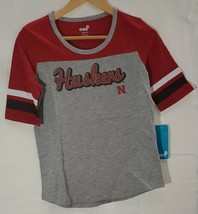 Nebraska Cornhuskers Official NCAA Apparel Youth Girls Size T-Shirt New Tags - $12.62