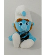 The Smurfs 2 Gutsy Plush Doll Toy Plaid Kilt Scottish Stuffed Animal 2013 - $6.92
