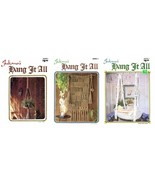 JULIANO's HANG IT ALL 3 Macrame Pattern Books Book 1 2 3 Lamp Cradle Mac... - $19.99