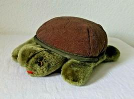 Folktails Folkmanis Hand Puppet Turtle Tortoise Green Plush Stuffed Animal  - $11.86