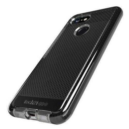 Tech21 - Evo Check Case for Google Pixel 3 XL Smokey Black Phone Case NEW